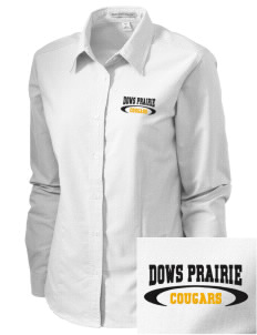 Dows Prairie Elementary School Cougars Embroidered Women's Classic Oxford