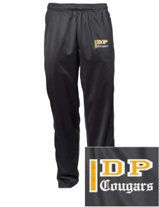 Dows Prairie Elementary School Cougars Embroidered Men's Tricot Track Pants