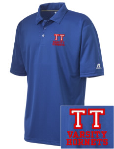 Toddy Thomas Elementary School Hornets Embroidered Russell Coaches Core Polo Shirt