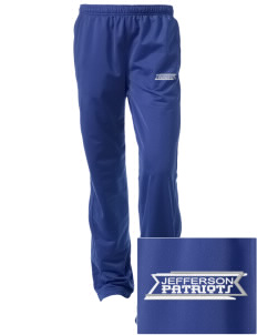 Jefferson Elementary School Patriots Embroidered Women's Tricot Track Pants