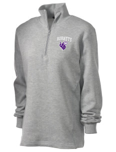 Deep Creek Central Elementary School Hornets Embroidered Women's 1/4 Zip Sweatshirt