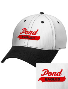 Pond Elementary School Eagles Embroidered New Era Snapback Performance Mesh Contrast Bill Cap
