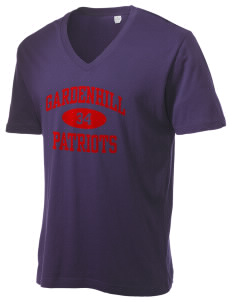 Gardenhill Elementary School Patriots Alternative Men's 3.7 oz Basic V-Neck T-Shirt