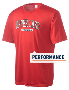 Upper Lake High School Cougars Men's Competitor Performance T-Shirt