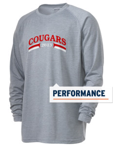Upper Lake High School Cougars Men's Ultimate Performance Long Sleeve T-Shirt