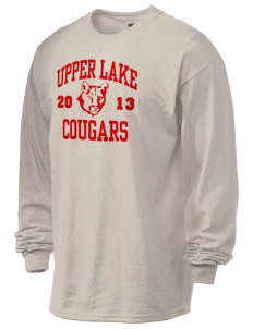 Upper Lake High School Cougars 6.1 oz Ultra Cotton Long-Sleeve T-Shirt