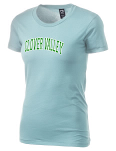 Clover Valley High School All Stars Alternative Women's Basic Crew T-Shirt