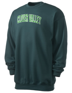 Clover Valley High School All Stars Men's 7.8 oz Lightweight Crewneck Sweatshirt