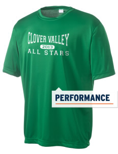 Clover Valley High School All Stars Men's Competitor Performance T-Shirt