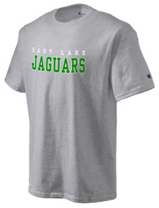 East Lake Elementary School Jaguars Champion Men's Tagless T-Shirt