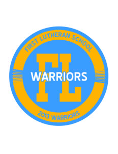 First Lutheran School Warriors Sticker