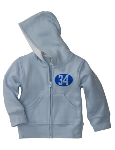 Baldwin Park High School Braves Baby Full Zip Hoodie