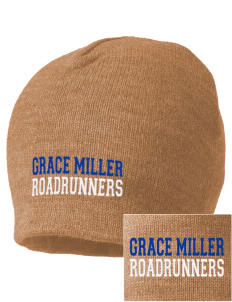 Grace Miller Elementary School Roadrunners Embroidered Beanie