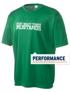 John Muir Middle School Mustangs Men's Competitor Performance T-Shirt