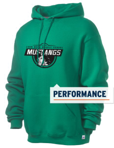 John Muir Middle School Mustangs Russell Men's Dri-Power Hooded Sweatshirt