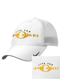 Live Oak Elementary School Leopards Embroidered Nike Golf Mesh Back Cap