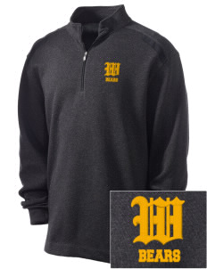 Warren High School Bears Embroidered Nike Men's Golf Heather Cover Up