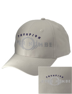 Thompson Elementary School Tigers Embroidered Low-Profile Cap