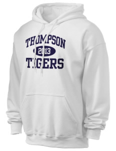 Thompson Elementary School Tigers Ultra Blend 50/50 Hooded Sweatshirt