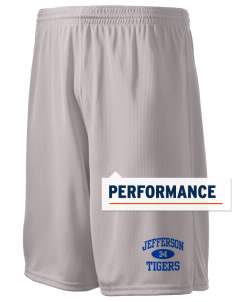 "Jefferson Elementary School Tigers Holloway Men's Speed Shorts, 9"" Inseam"