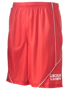 "Lincoln Elementary School Lions Men's Pocicharge Mesh Reversible Short, 9"" Inseam"