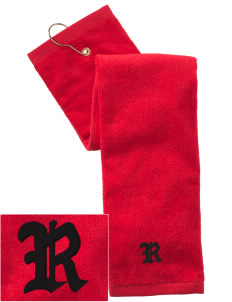 Theodore Roosevelt Middle School Rough Riders Embroidered Hand Towel with Grommet