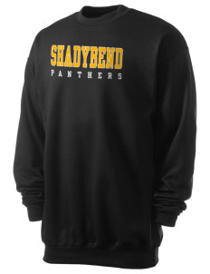Shadybend Elementary School Panthers Men's 7.8 oz Lightweight Crewneck Sweatshirt