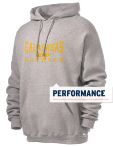 Calabasas High School Coyotes Russell Men's Dri-Power Hooded Sweatshirt