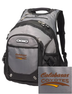 Calabasas High School Coyotes Embroidered OGIO Fugitive Backpack