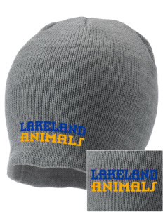 Lakeland Elementary School Animals Embroidered Knit Cap