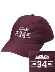 Mildred B Janson Elementary School Jaguars Embroidered Vintage Adjustable Cap