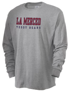 La Merced Elementary School Teddy Bears  Russell Men's Long Sleeve T-Shirt