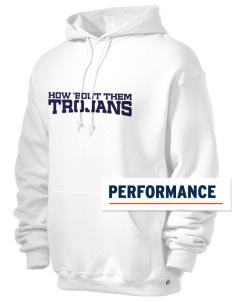 La Merced Intermediate School Trojans Russell Men's Dri-Power Hooded Sweatshirt