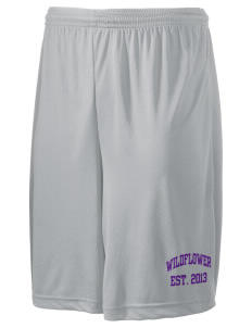"Wildflower Elementary School Wildcats Men's Competitor Short, 9"" Inseam"