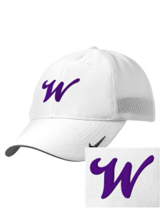 Wildflower Elementary School Wildcats Embroidered Nike Golf Mesh Back Cap