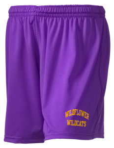 "Wildflower Elementary School Wildcats Holloway Women's Performance Shorts, 5"" Inseam"
