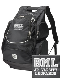 Bert M Lynn Middle School Leopards  Embroidered OGIO Bounty Hunter Backpack