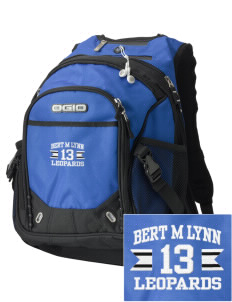 Bert M Lynn Middle School Leopards Embroidered OGIO Fugitive Backpack