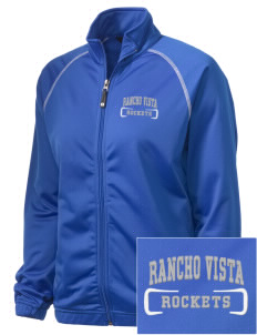 Rancho Vista Elementary School Rockets Embroidered Holloway Women's Attitude Warmup Jacket