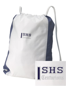 Saugus High School Centurions Embroidered Holloway Home and Away Cinch Bag