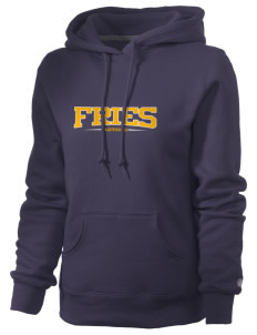 Fries Elementary School Aztecs Russell Women's Pro Cotton Fleece Hooded Sweatshirt