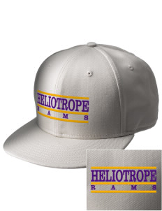 Heliotrope Elementary School Rams  Embroidered New Era Flat Bill Snapback Cap