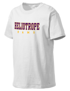 Heliotrope Elementary School Rams Kid's Lightweight T-Shirt