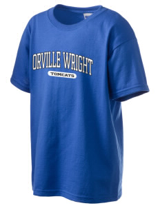 Orville Wright Middle School Tomcats Kid's 6.1 oz Ultra Cotton T-Shirt