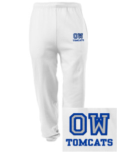 Orville Wright Middle School Tomcats Embroidered Men's Sweatpants with Pockets