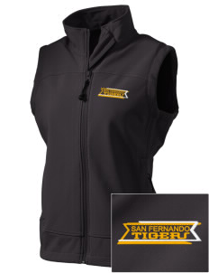 San Fernando High School Tigers  Embroidered Women's Glacier Soft Shell Vest