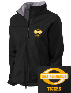 San Fernando High School Tigers Embroidered Women's Glacier Soft Shell Jacket