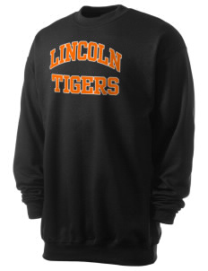 Lincoln High School Tigers Men's 7.8 oz Lightweight Crewneck Sweatshirt