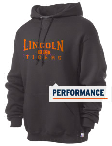 Lincoln High School Tigers Russell Men's Dri-Power Hooded Sweatshirt
