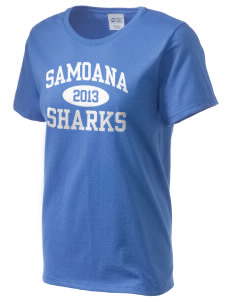 samoana high sharks Women's Essential T-Shirt